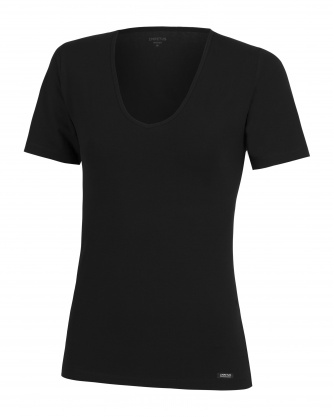 T-shirt V-neck Cotton Modal