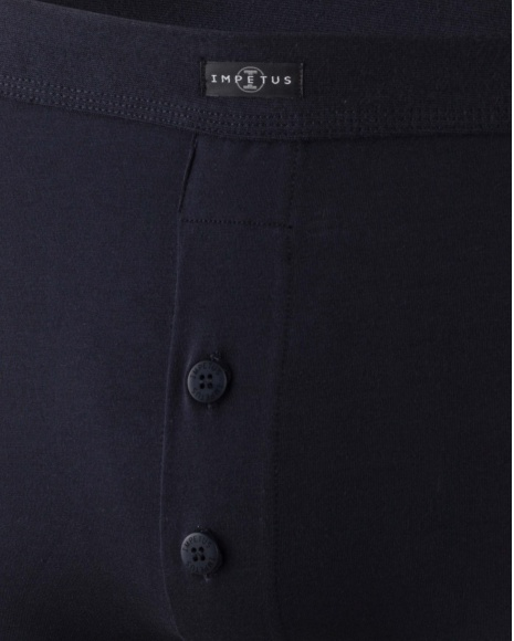 Button Fly Boxer Cotton Stretch