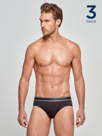 Pack 3 Slips Cotton Stretch